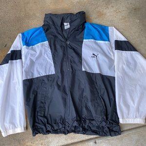 Puma Windbreaker w/hoodie